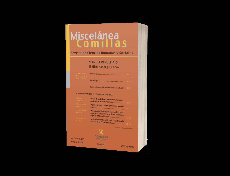 Suscripción a revista Miscelánea Comillas