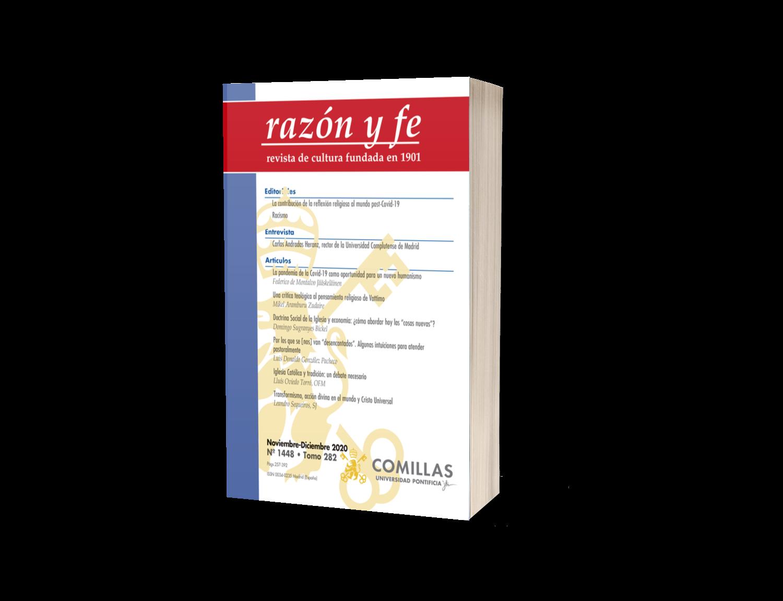 Suscripción a revista Razón y Fe